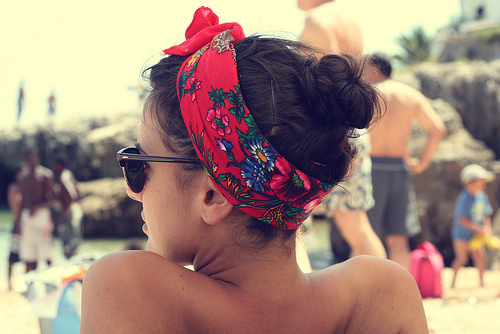 beach, fashion, hairband, photography, summer, sun, sunglasses