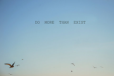 birds, blue, do more, exist, nice, sky, text, than, true