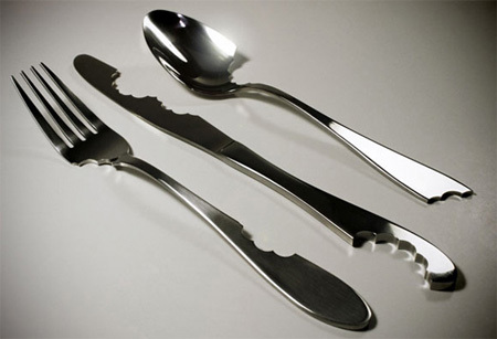 bite, concept, cute, cutlery, design