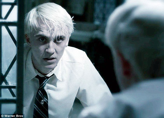 blonde, boy, draco, draco malfoy, harry potter