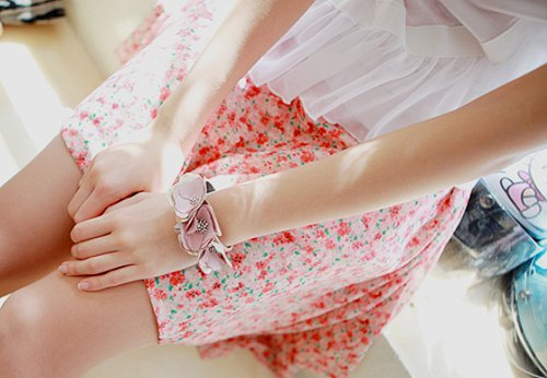 blouse, bracelet, cute, fashion, floral