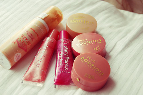 blush, bourjois, burjois, lipgloss, make-up