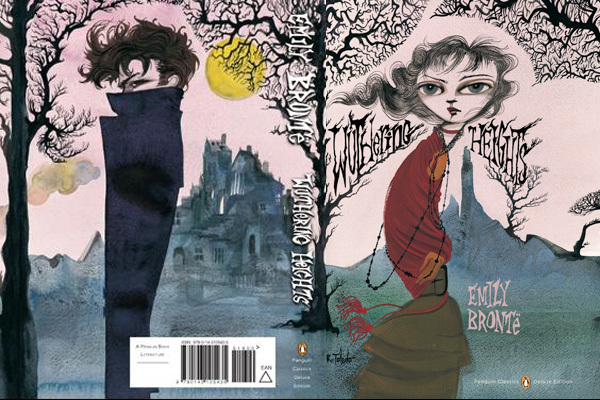 book, books, cover, cover art, emily bronte