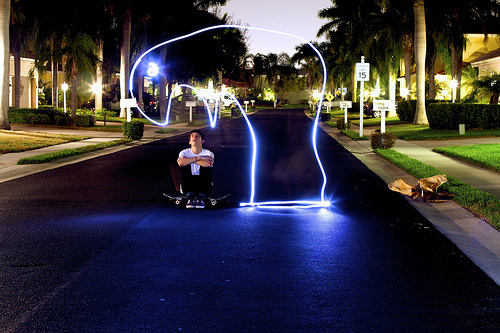 boy, cool, cute, light photography, palm trees, photo, photography, street
