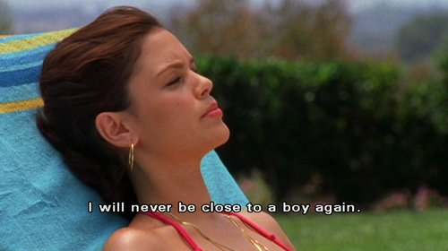 boy, quote, rachel bilson, summer, summer roberts, text, the oc, typography