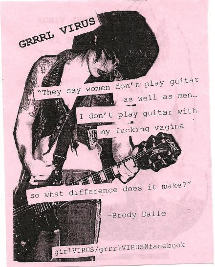 Brody Dalle Quotes Brody Dalle Feminism Grrrl