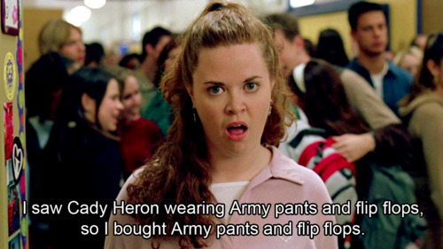 Cady Heron Funny Mean Girls Movie Quote