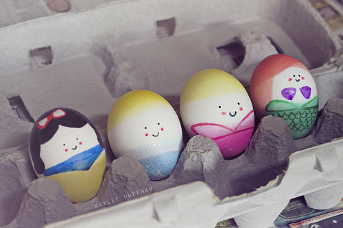cascarones, cute, disney, easter, eggs