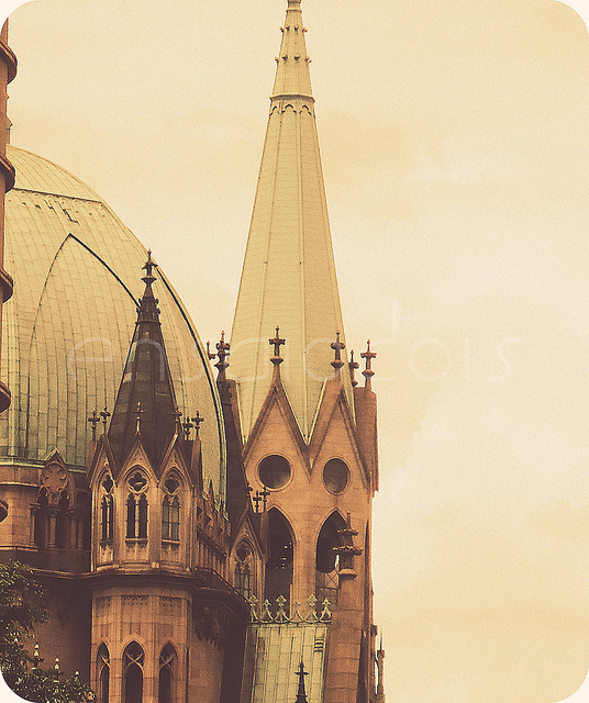 cathedral, church, city, ensaiodois, god