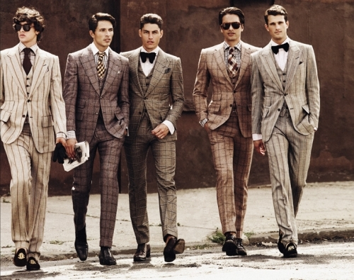 chic, fashion, handsome, men, models, suits