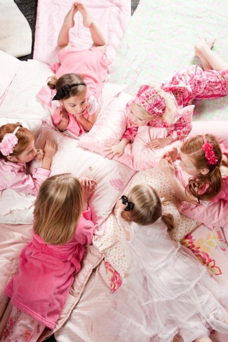 children, friends, girls, kids, pillows, pink