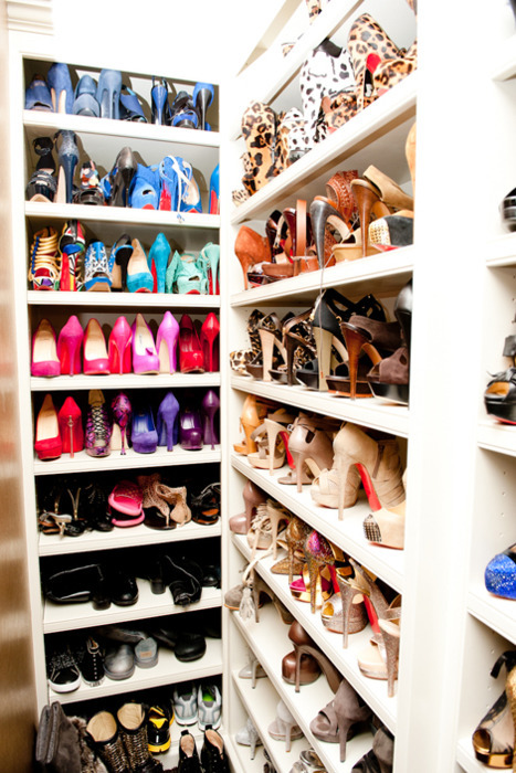 closet, heels, louboutins, shoes, sneaker