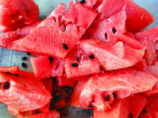 delicious, red, summer, watermelon
