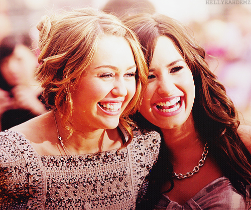 demi lovato, happiness pretty cute, miley cyrus