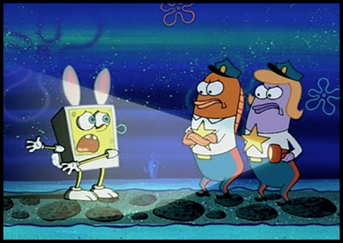 easter, happy easter, spongebob squarepants