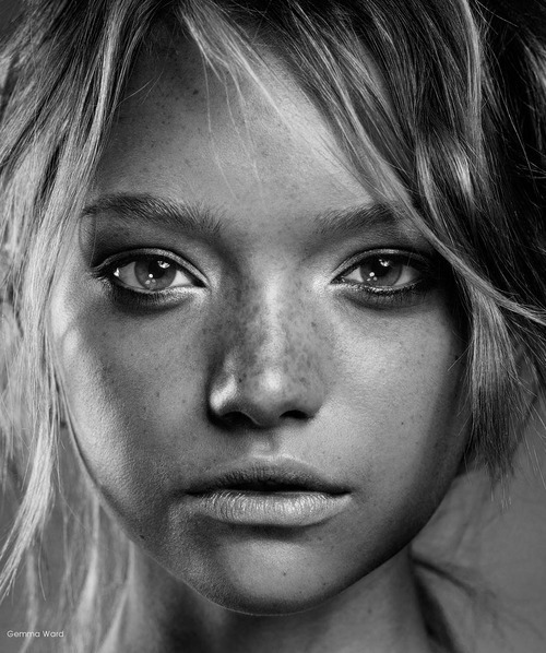 eyes, gemma ward, girl, model, pretty