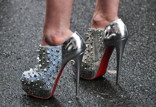 fashion, glam, heels, high, louboutin, separate with comma, shoes, spikes