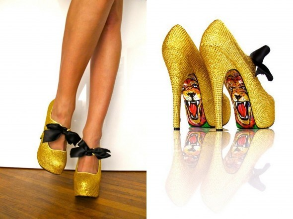 fashion, gold, shoes, taylor says