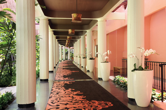 flowers, hotel, luxury, pink