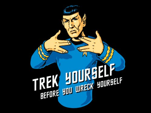 funny, ice cube, live long and prosper, lol, spock, text