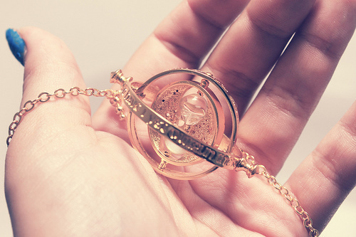 harry potter, necklace, separate with comma, time travel, time turner