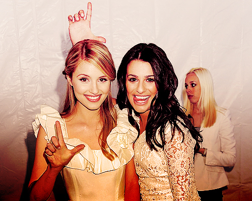 actress, beautiful, blonde, diana agron, girls, glee, glee cast, lea michele, lol, loser, quinn fabray, rachel berry