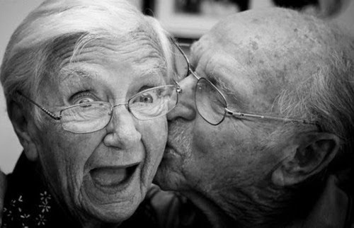 adorable, black and white, cute, funny, grandma