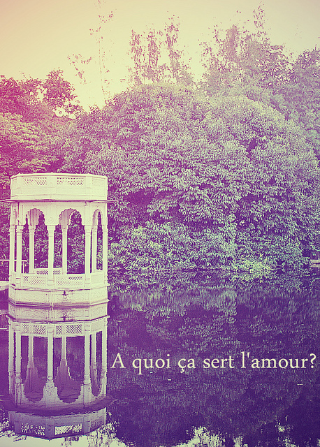 amour, lake, love, reflection, romance