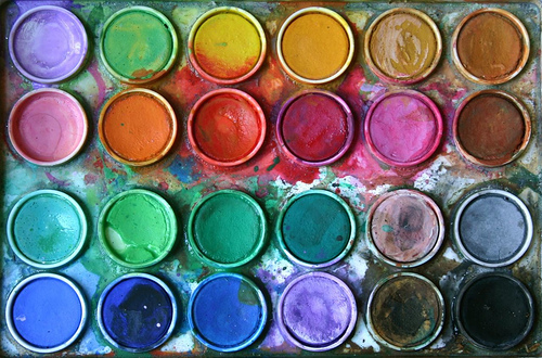 art, color, colorful, colour, colourful, paint, painting, rainbow