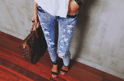 awesome, bag, fashion, jeans, pretty