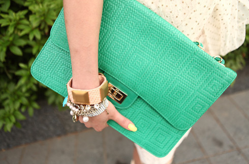 bag, girl, nails, style