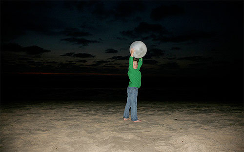 ball, beach, child, fun, kid