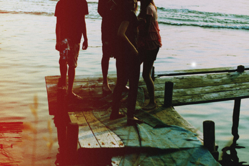 beach, board, dock, friends, photography
