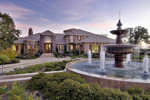 Beautiful house luxury sky image 214778 on for Pretty mansions