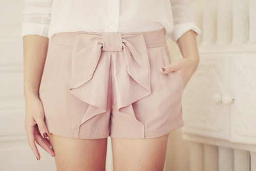 beige, bow, fashion, legs, loop