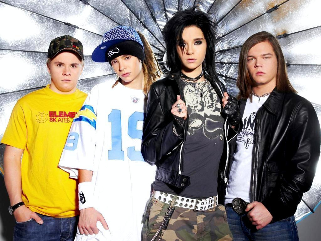 bill kaulitz, boys, dreadlocks, georg listing, guys