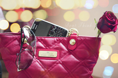 black berry, bokeh, dont think, love, photography, pink, ray bans, red, sunglasses