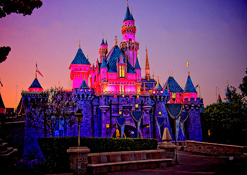 blue, castle, cinderela, cut, disney, dream, eaw, lights, perfect, pink, some, tower