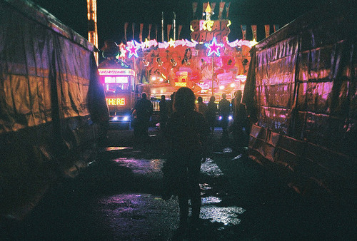 bright lights, carnival, dark, darkness, fun park
