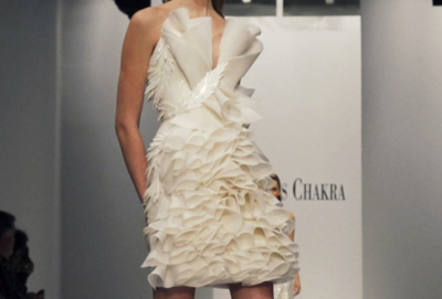 catwalk, dress, fashion, glamour, style, white dress