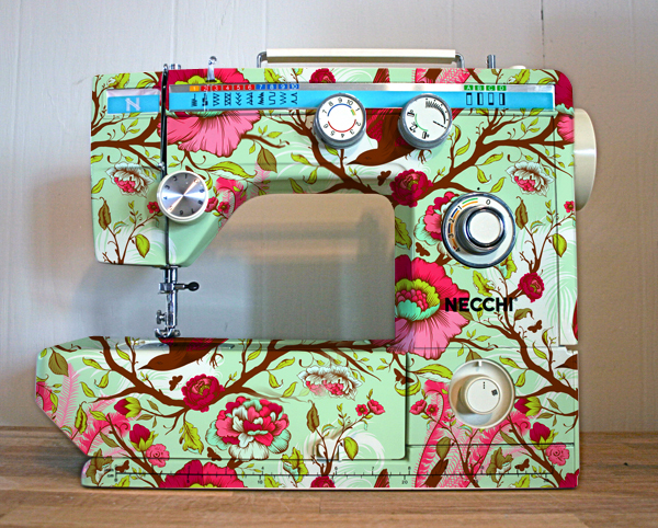 cute, decoration, sew, sewing machine