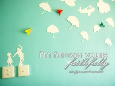 cute, forever, green, inspiring, love quote