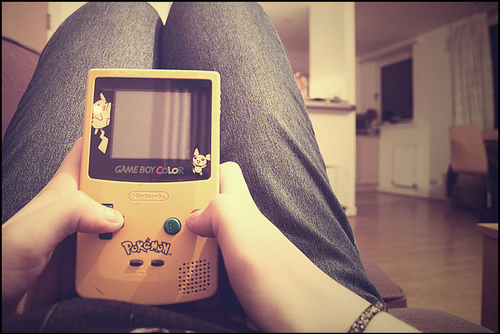 cute, game boy, game boy color, old, pokemon