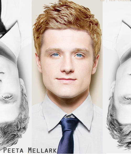 dayum boy (:, hunger games, josh hutcherson, katniss everdeen, peeta, peeta mellark, the hunger games