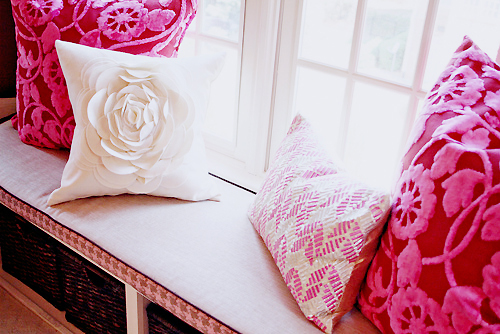 decor, pillow, pink