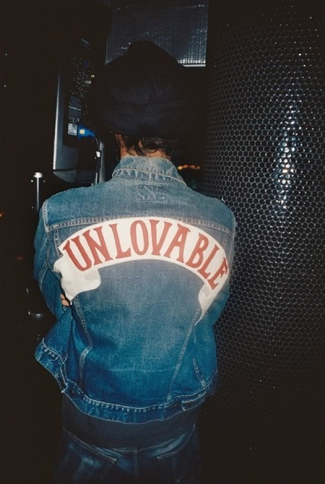 denim, jacket, patch, photograph, punk, unlovable