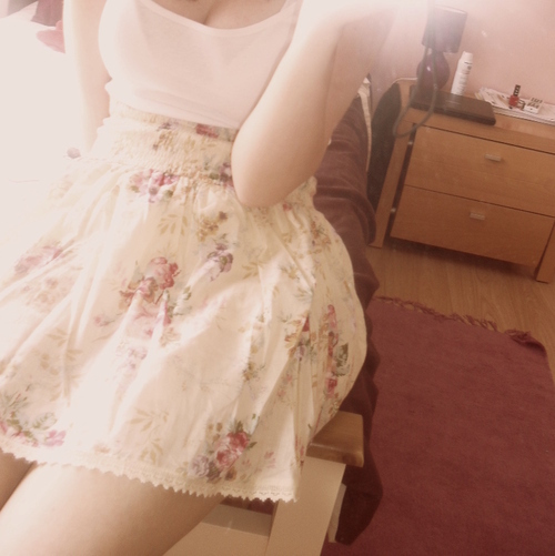 dress, fashion, floral, flowery, pink, vintage