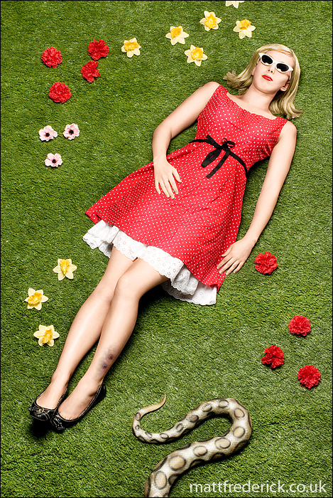 dress, flowers, girl, glasses, poison