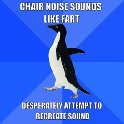 fart, funny, lol, noise, socially awkward penguin