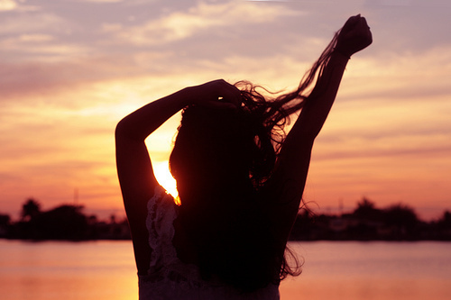 fashion, girl, hair, life, live, sexy, summer, sun, sunset